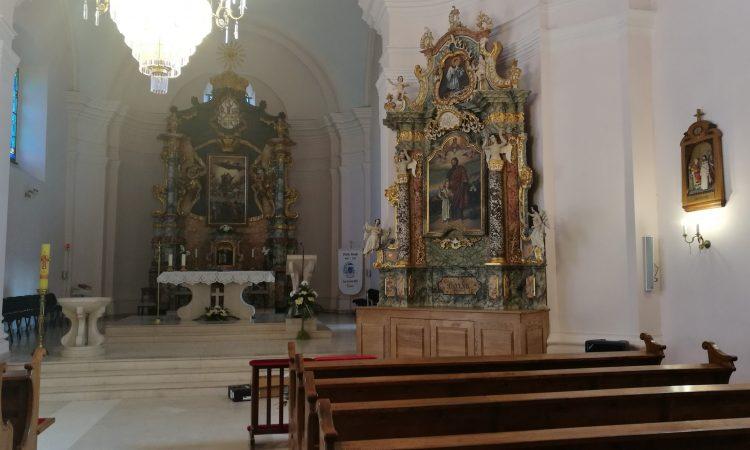 DOVRŠETAK RESTAURACIJE Oltar sv. Josipa nakon 30 godina u pakračkoj crkvi