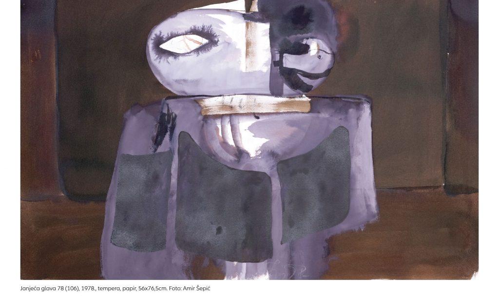 IZLOŽBA SLIKA I CRTEŽA Radovi Ive Šebalja izloženi u pakračkom muzeju
