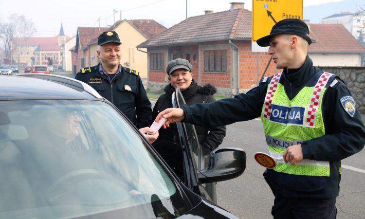 PREVENTIVNA AKCIJA POLICIJE Umjesto kazni – pokloni!
