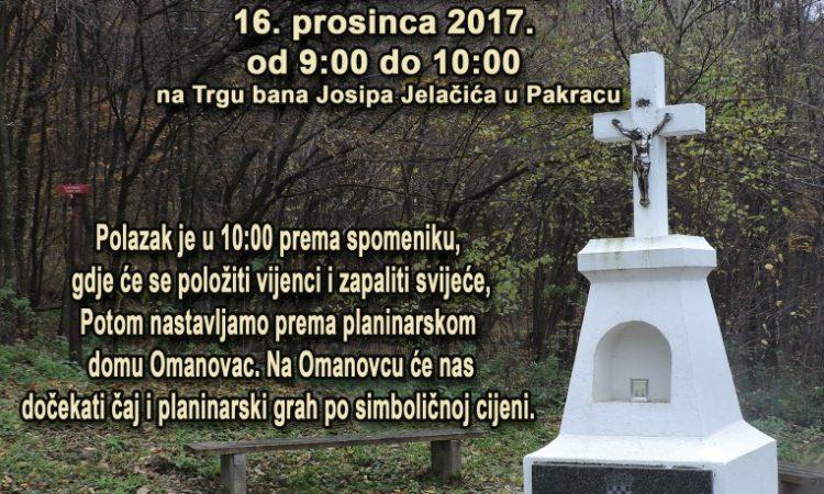"""OVOGODIŠNJA """"FOKINA STAZA"""" U subotu 16. prosinca"""
