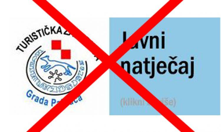 TZ PAKRAC Poništavanje Javnog natječaja!