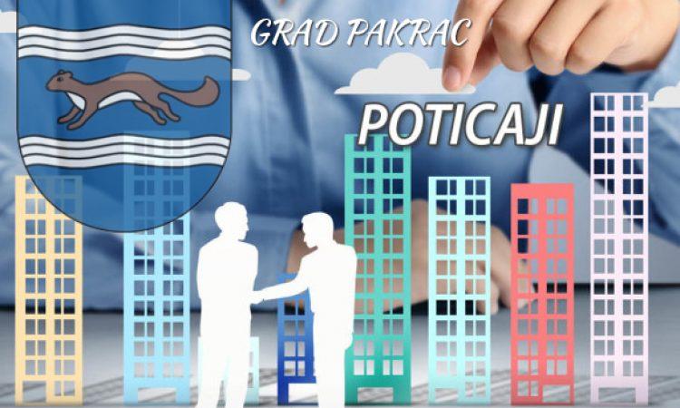 POTICAJNE MJERE GOSPODARSTVU Grad Pakrac osigurao sredstva za razvoj poduzetništva