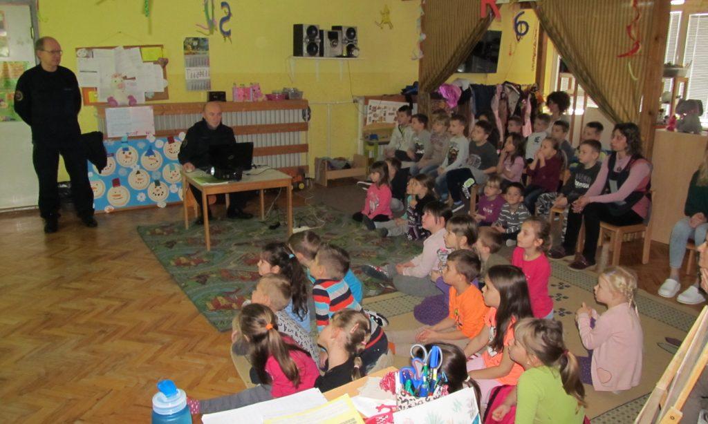 Dječji vrtić Maslačak Pakrac – Predavanje iz zaštite i spašavanja