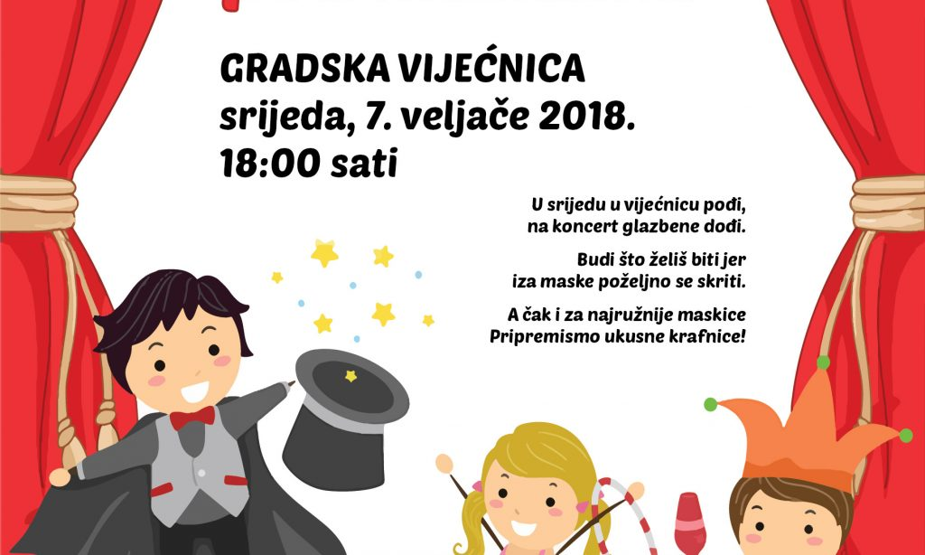 GLAZBENA ŠKOLA PAKRAC Koncert pod maskama