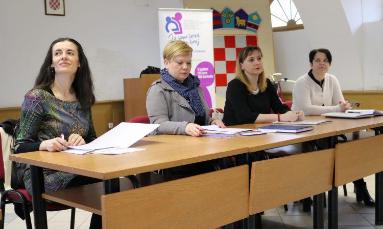 """ZAŽELI – PROGRAM ZAPOŠLJAVANJA ŽENA Početna konferencija projekta """"Ja sam žena, a ne broj"""""""