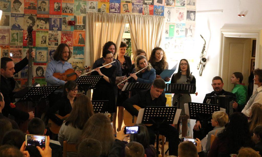 OSNOVNA GLAZBENA ŠKOLA Koncert učitelja povodom proslave Dana škole