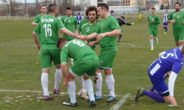 """MŽNL SiB: HAJDUK- ŽELJEZNIČAR (SB) 2:0 – Sigrunom igrom i pobjedom ušli u """"proljeće"""""""