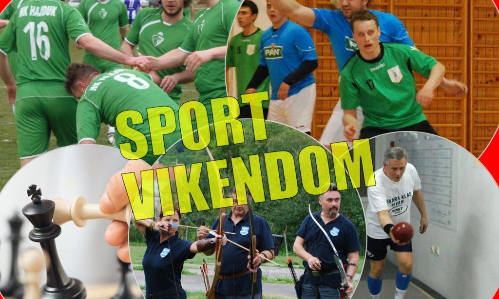 SPORTSKI VIKEND Natjecateljske utakmice nadopunjuju prigodni turniri