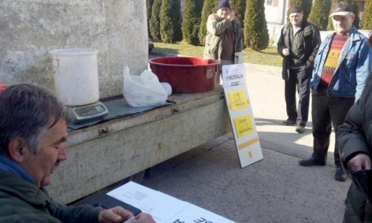 TRŽNICA PAKRAC U četvrtak prodaja ribe