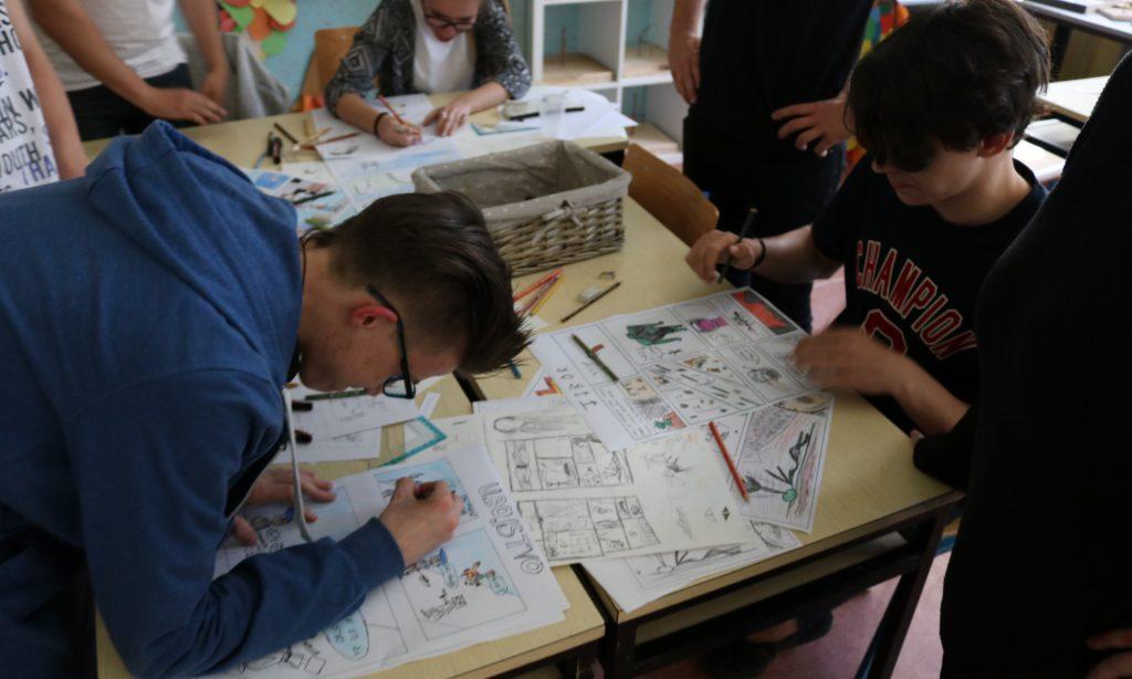 KISTOMAT Osnovnoškolci oduševljeni likovnim radionicama