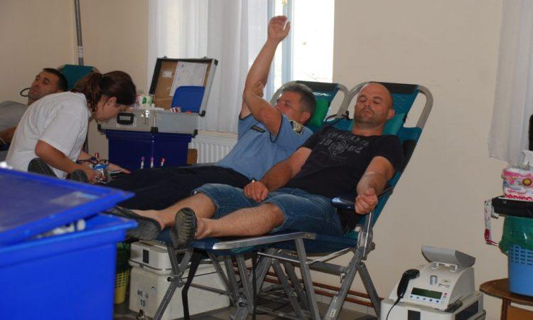 U PONEDJELJAK  Akcija dobrovoljnog darivanja krvi