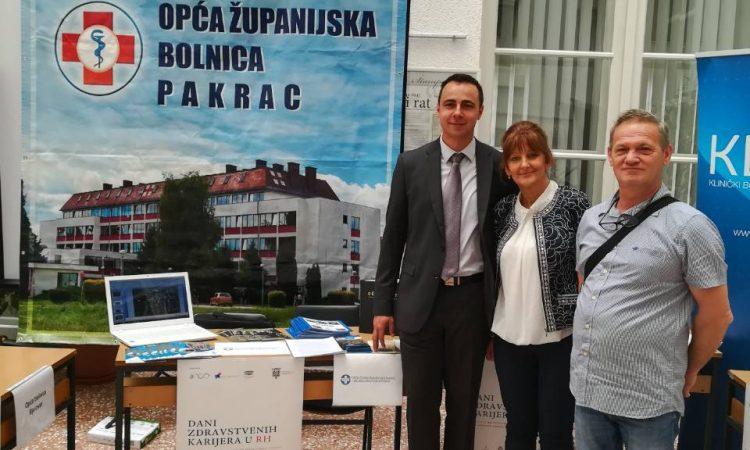 BOLNICA PAKRAC Predstavili se kolegama u Zagrebu