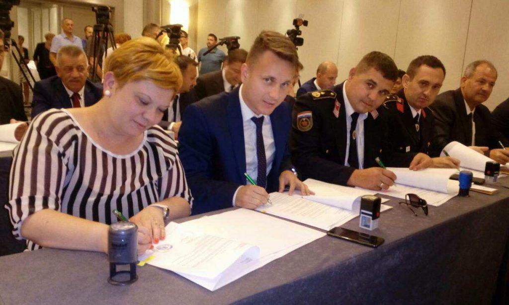 DANAS U ZAGREBU Potpisan ugovor od 7,5 milijuna kuna za novi pakrački trg