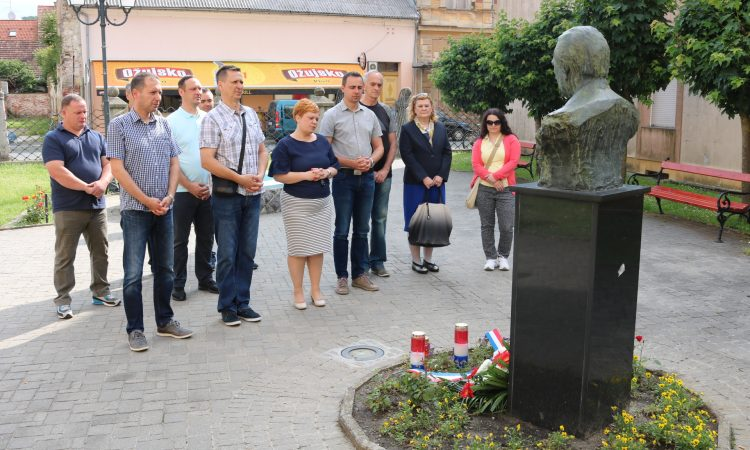 HDZ PAKRAC Obilježena 96. obljetnica rođenja dr. Franje Tuđmana