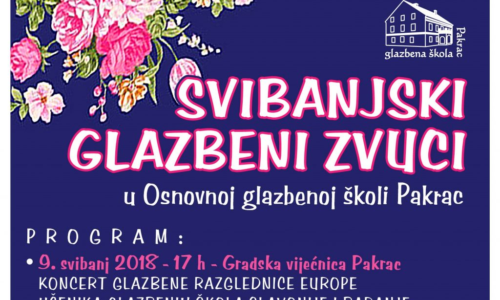 GLAZBENA ŠKOLA Sutra započinje svibanjski koncertni ciklus