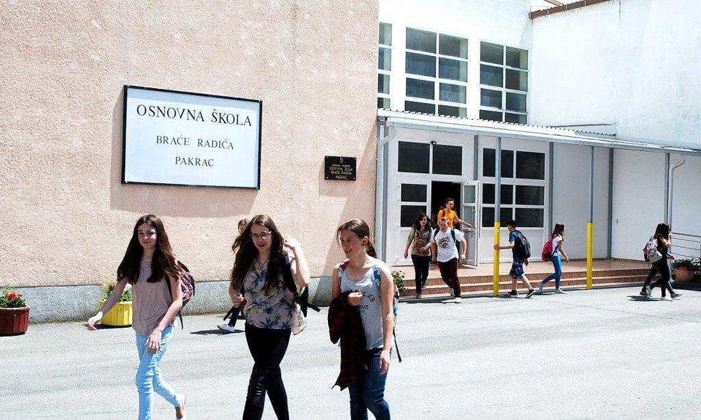 PAKRAČKA OSNOVNA ŠKOLA Na jesen kreće 78 novih učenika