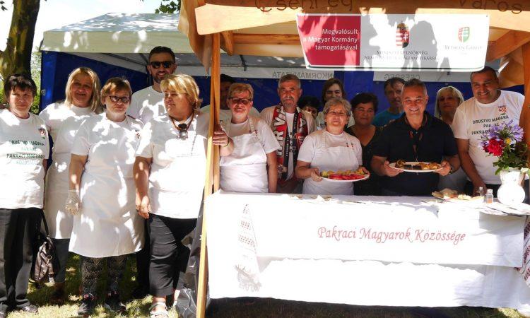 DRUŠTVO MAĐARA PAKRAC Predstavili svoje kulinarstvo u Csepregu