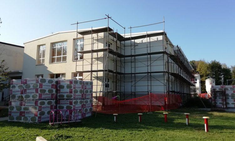 ENERGETSKA OBNOVA OSNOVNE ŠKOLE Započeli građevinski radovi
