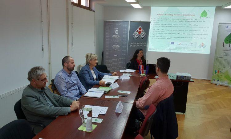 PROJEKT ZAVODA ZA ZAPOŠLJAVANJE Lokalna inicijativa za poduzetničku aktivaciju