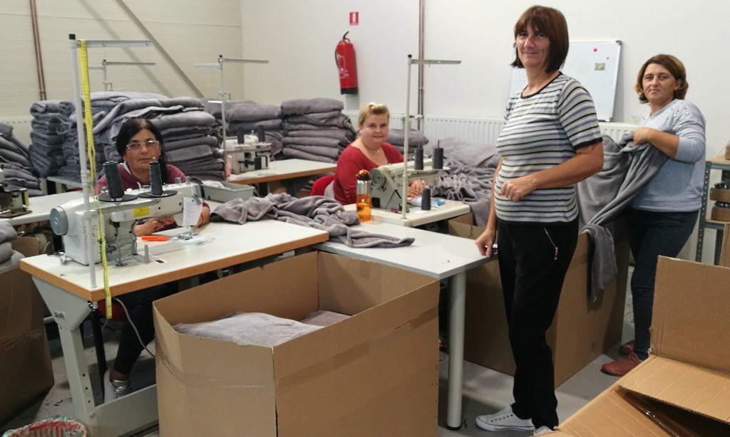 NOVI PROIZVODNI POGON Radi pet žena, kroz godinu nova zapošljavanja