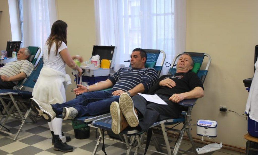 U PONEDJELJAK 15. LISTOPADA Akcija prikupljanja krvi