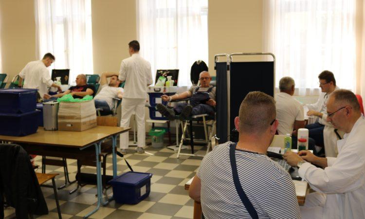 GD CRVENOG KRIŽA PAKRAC Prikupljeno 116 doza krvi