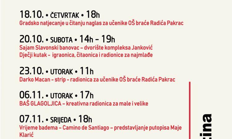 GRADSKA KNJIŽNICA PAKRAC Glagoljica-tema Mjeseca hrvatske knjige
