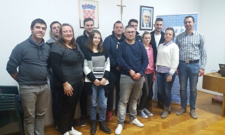 UNUTARSTRANAČKI IZBORI Mihael Andrijanić novi predsjednik mladeži HDZ-a Pakrac