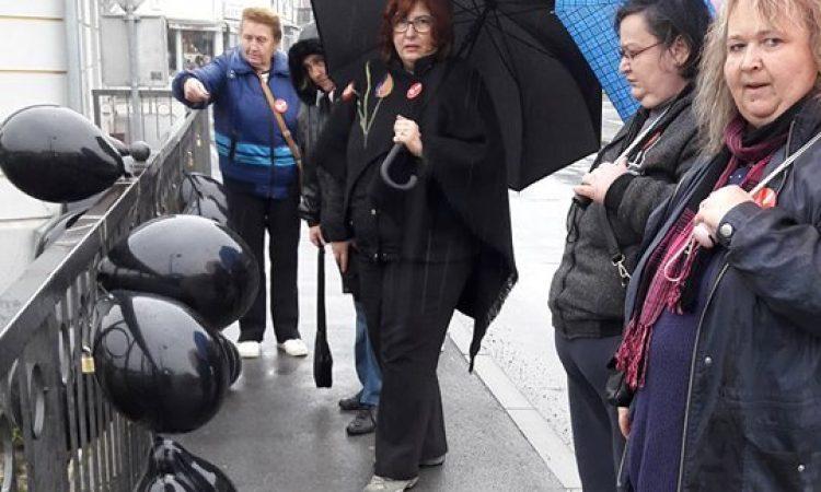 FORUM ŽENA SDP PAKRAC Obilježile Međunarodni dan borbe protiv nasilja nad ženama