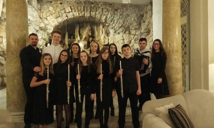 """OGŠ PAKRAC Pakrački učenici """"srebrni"""" na regionalnom natjecanju komornih sastava"""