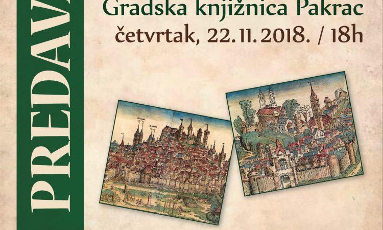 22. STUDENOG Predavanje poznatog povjesničara i publicista Zdenka Samaržije