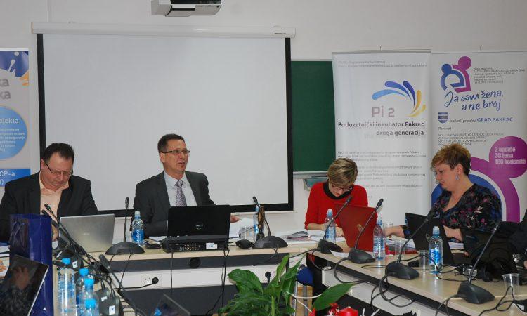 GRADSKO VIJEĆE PAKRAC Gradska kasa nabujala na 42 milijuna kuna