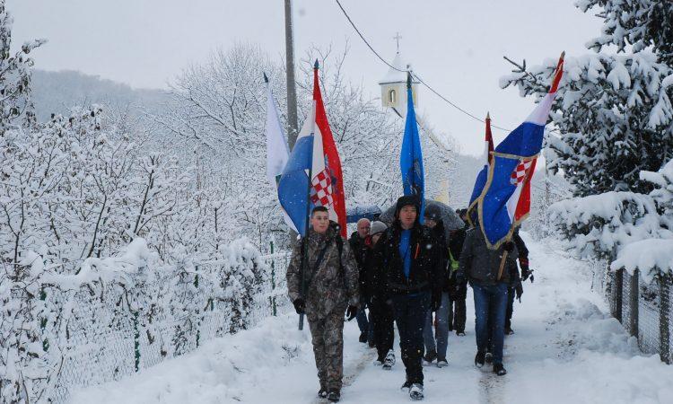 23. PUT FOKINOM STAZOM Snijeg najviše zasmetao Pakračanima