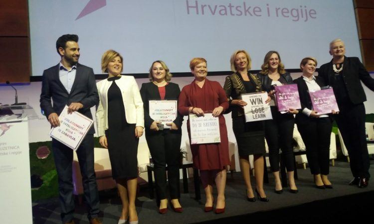 KONGRES PODUZETNICA HRVATSKE I REGIJE Pakrac se kao grad partner predstavio na Kongresu poduzetnica