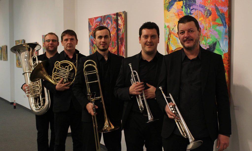 NAJAVA KONCERTA Gostuje Podium brass quintet