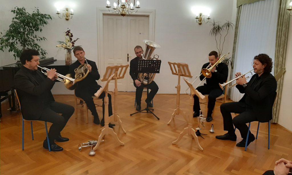OGŠ PAKRAC Održan koncert Podium brass quinteta