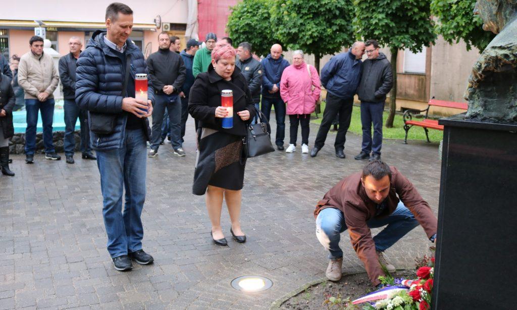 GO HDZ PAKRAC Obilježena 97. godišnjica rođenja dr. Franje Tuđmana
