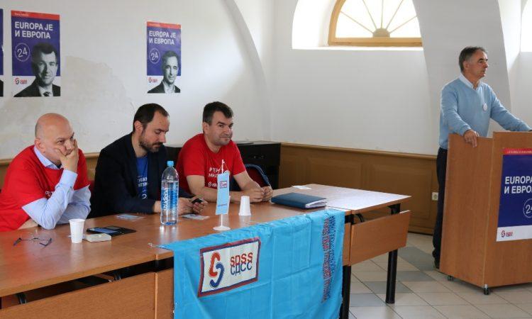 PREDIZBORNI SKUP SDSS-a U PAKRACU Želimo više slobode i tolerancije