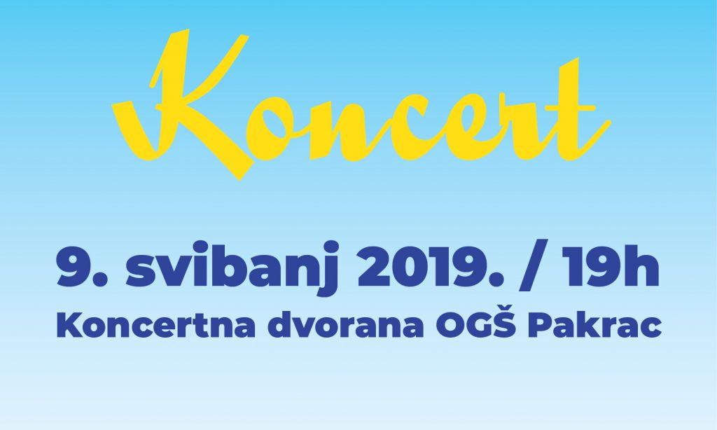 OGŠ PAKRAC Koncert povodom Dana Europe