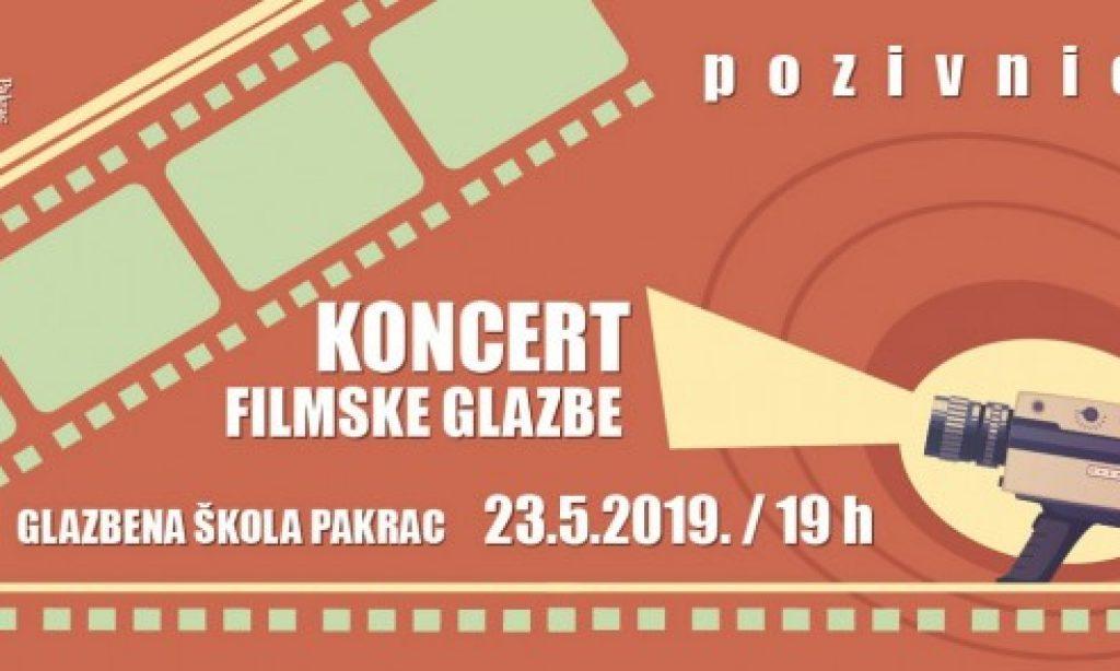 OSNOVNA GLAZBENA ŠKOLA PAKRAC Koncert filmske glazbe