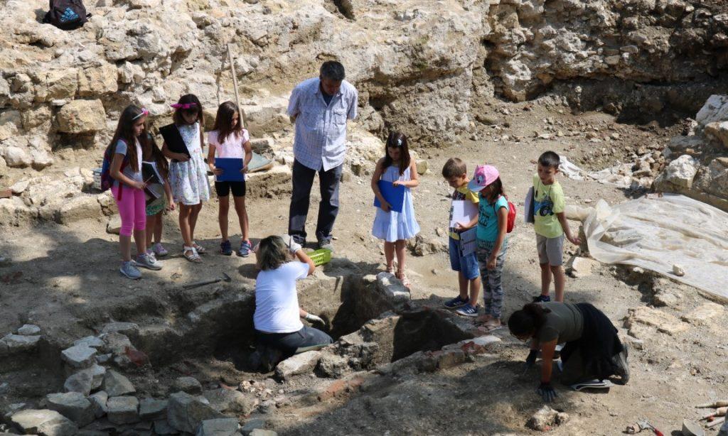 NASTAVLJENO COOLTURNO LJETO Mali arheolozi opet u akciji