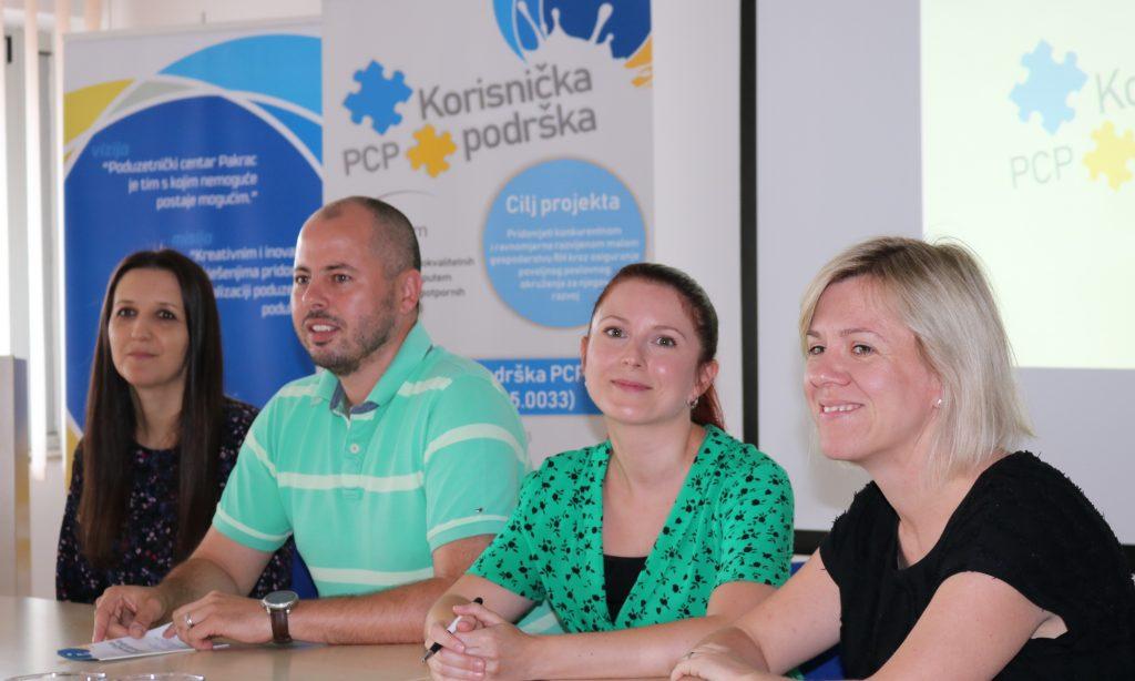 """ZAVRŠNA KONFERENCIJA """"KORISNIČKA PODRŠKA PCP-a"""" Kroz projekt ostvaren cilj – jači i konkurentniji poduzetnik"""