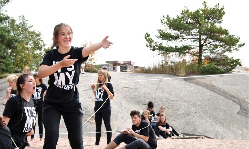 KRISTINA ZEDNIK U FINSKOJ Sudjelovala na Festivalu mladih kazališnih stvaratelja Europe