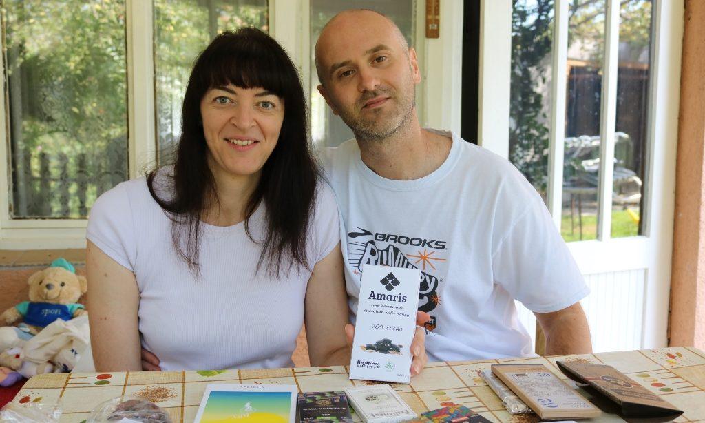 """""""AMARIS CHOCOLATE"""" STEVE NAGYJA I DIJANE PIJUKO Vrhunska čokolada s pakračkim potpisom"""