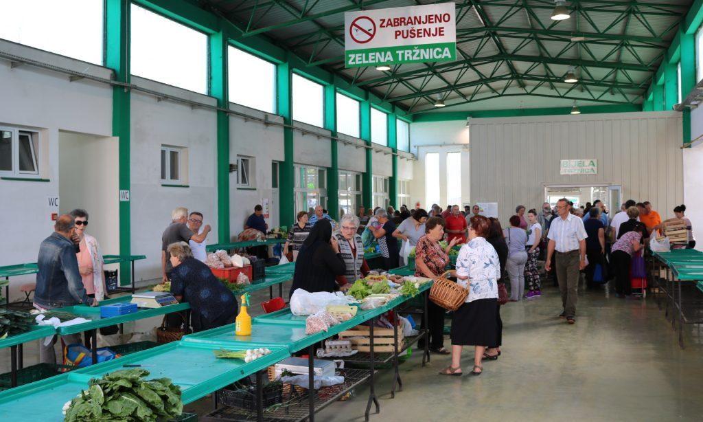 POVODOM BLAGDANA VELIKE GOSPE Tržnica u srijedu 14. kolovoza