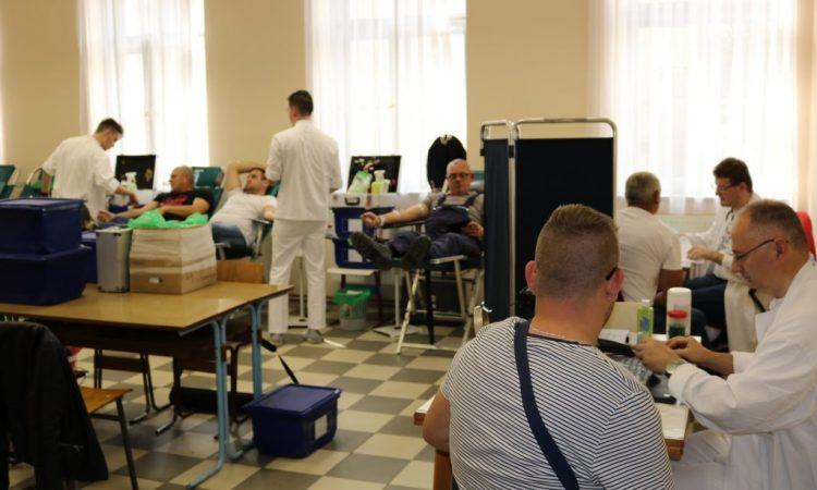 GD HCK PAKRAC Treća ovogodišnja akcija dobrovoljnog darivanja krvi