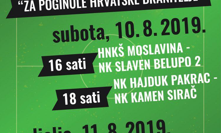 GRADSKI STADION /SUBOTA I NEDJELJA/ Dvodnevni memorijalni nogometni turnir