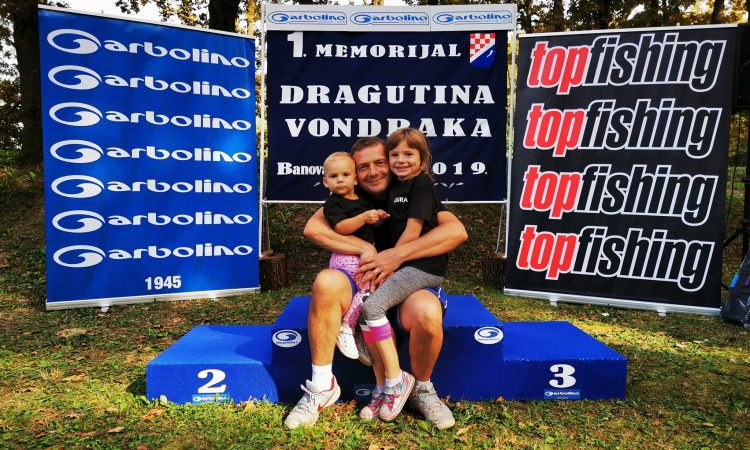 "MEMORIJAL ""DRAGUTIN VONDRAK""  99 ribolovaca na natjecanju Dragi u spomen"
