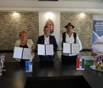 DRUŠTVO MAĐARA PAKRAC Sporazum s gradom Csepregom kao nastavak suradnje