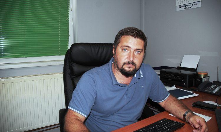 JOSIP BIŠĆANIN, DIREKTOR KOMUNALCA Miješanog komunalnog otpada sve manje